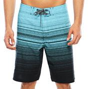 Ocean Current Waver Board Shorts Young Men