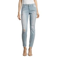 Belle + Sky Alexa Destructed Skinny Jeans-Petites