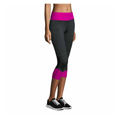 Xersion Jersey Workout Capris Talls