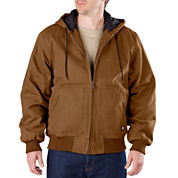 Dickies® Heavy-Duty Sanded Duck Hooded Jacket