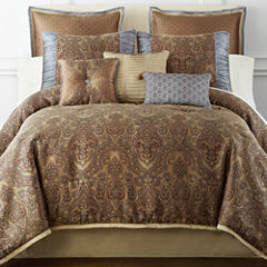 Home Expressions™ Savoy 7-pc. Jacquard Comforter Set & Accessories