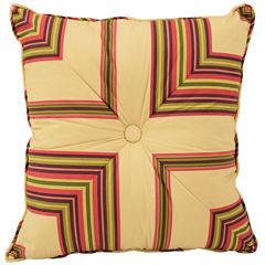 Waverly® Floral Flourish Cordial Square Decorative Pillow