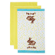 JCPenney Home™ Easter 3-pc. Kitchen Towels