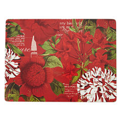Manorcraft by Pimpernel® Botanique Noel Set of 4 Cork-Backed Placemats