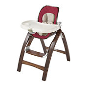 Summer Infant® Bentwood High Chair - Country Time Cranberry