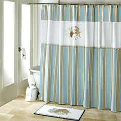 Avanti By the Sea Bath Shower Curtain