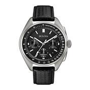 Bulova® UHF Mens Special Edition Moonwalk Replica Chronograph Watch Set 96B251