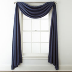scarf valances curtains & drapes for window - jcpenney