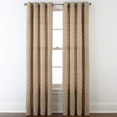 Superb Studio™ Henderson Jacquard Grommet Top Curtain Panel