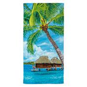 Palm Vacation Beach Towel