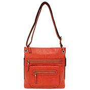 St. John`s Bay Double Zip Crossbody Bag