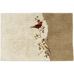 Avanti Gilded Birds Bath Rug