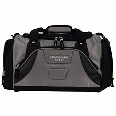 Travelers Club Adventure Redwood 2-section Drop-bottom Rolling Duffel