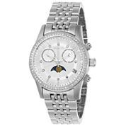 Invicta Womens Silver Tone Bracelet Watch-22504