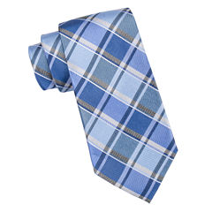 Stafford Casper Color Plaid Tie