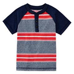 Arizona Boys Short-Sleeve Henley - Toddler 2T-5T