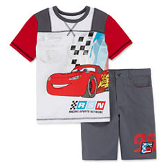 Disney Cars Short Sleeve Short Set