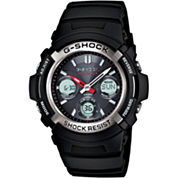 Casio® G-Shock Mens Multi Band 6 Solar Watch AWGM100-1ACR