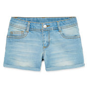 Total Girl® Super Stretch Shorty Shorts - Girls 7-16
