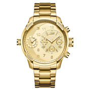 JBW G3 18k Gold-Plated 0.16 C.T.W Diamond Mens Gold Tone Bracelet Watch-J6344a