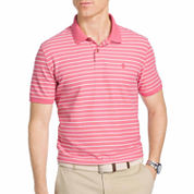 IZOD Advantage Performance Short Sleeve Stripe Polo