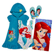 Disney Collection Ariel Swimsuit, Beach Towel, Cover-up or Flip-flops