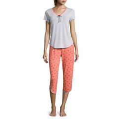 Sleep Chic Capri Pajama Set