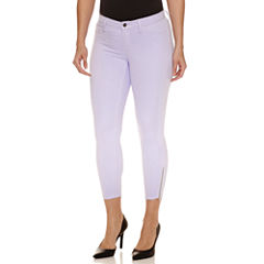 Bold Elements Ankle Zip Skinny Pants