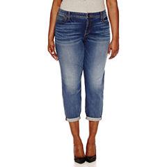 Boutique + Denim Ankle Jeans - Plus