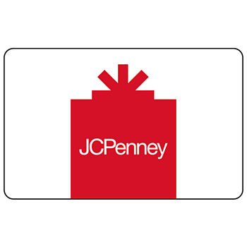 250 Jcp Red Gift Card