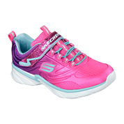 Skechers® Swirly Girl Shine Vibe Fashion Sneakers - Little Kids