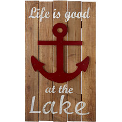 Life is Good at the Lake Wall Art