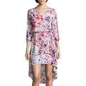 a.n.a® Long-Sleeve High-Low Dress