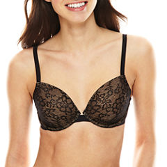 Ambrielle® Lightly Lined Everyday Demi Lace Bra
