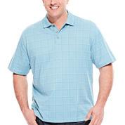 Van Heusen® Short-Sleeve Printed Polo Shirt - Big & Tall