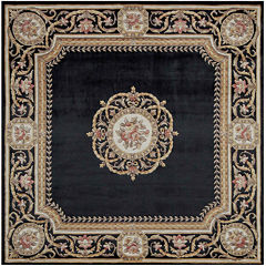 Momeni® Atlantis Hand-Carved Wool Square Rug