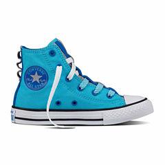 Converse Chuck Taylor All Star Loopholes Hi Girls Sneakers - Little Kids/Big Kids