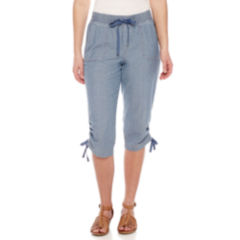 Misses Size Capris & Crops for Women - JCPenney