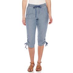Misses Size Capris & Crops for Women - JCPenney