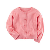 Carter's Short Sleeve Cardigan - Toddler Girls