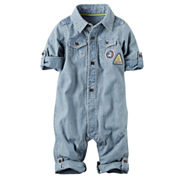 Carter's Long Sleeve Jumpsuit - Baby