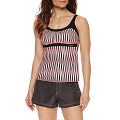 ZeroXposur® Stripe Tankini or Board Short
