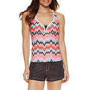 ZeroXposur® Chevron Tankini or Board Short