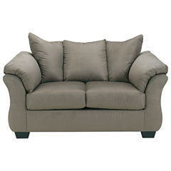 Signature Design by Ashley® Madeline Pad-Arm Upholstered Loveseat