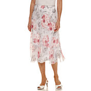 Alfred Dunner Rose Hill Full Skirt