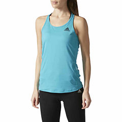Adidas Sleeveless Crew Neck T-Shirt