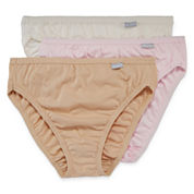 Jockey® Elance® 3-pk. French-Cut Panties - 1485 Plus