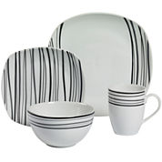 Tabletops Gallery® Justin 16-pc. Dinnerware Set