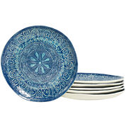 Tabletops Gallery® Set of 6 Round Salad Plates