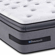 Sealy® Posturepedic® Solia Bay Cushion Firm Euro Pillow-Top - Mattress Only